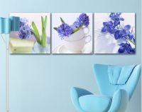 Bộ tranh ghép hoa đậu tía