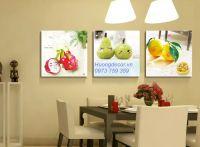 Bộ tranh ghép hoa quả