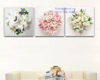 Bộ tranh ghép hoa