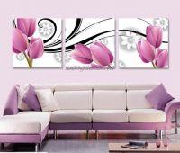 Bộ tranh ghép hoa tulip