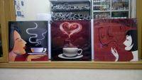 Bộ tranh ghép cà phê