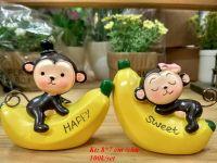 Đôi khỉ ôm chuối