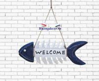Bảng welcome hình cá
