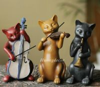 Bộ 3 chú mèo chơi nhạc
