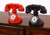 Mô hình điện thoại để bàn ( đỏ hoặc đen)