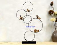 Tượng tối giản hiện đại - set chim sẻ