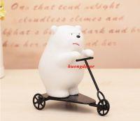 Gấu trượt xe ba bánh