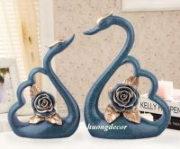 Đôi thiên nga hoa hồng