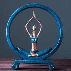 Cô gái tập yoga (mẫu 2)