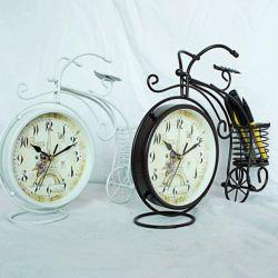 Xe đạp đồng hồ có giỏ ( trắng hoặc nâu )