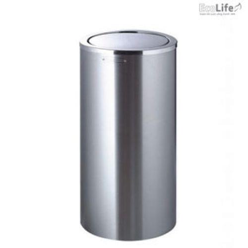 Thùng rác inox nắp lật ECO120