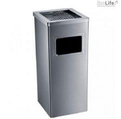 Thùng rác inox có gạt tàn ECO115
