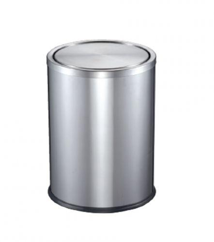 Thùng rác inox nắp lật ECO125