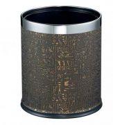 Thùng rác inox sơn tĩnh điện ECO504
