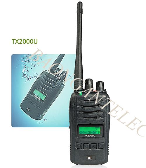 Bộ đàm cầm tay chống nước TTI TX 2000U