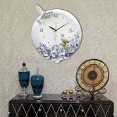 Đồng hồ chim và hoa lan