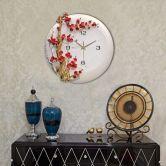 Đồng hồ hoa đào đỏ