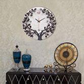Đồng hồ cây thịnh vượng màu đen