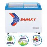 Tủ đông Sanaky VH182K ( dàn nhôm, 180 L, kính cong)