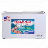 Tủ đông Denver AS 780K (1 ngăn, mặt kính cong, dàn đồng, 420L, lòng chống dính, màu White)