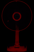Quạt bàn Điện Cơ 91 QB-300/AQT (ắc quy) có tuốc năng