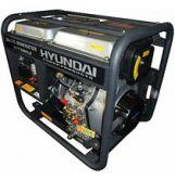 Máy phát điện chạy dầu 7kW Huspanda HD8500 đề