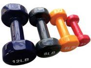 Tạ tay thép bọc cao su XD01-3kg/6LB