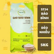 Gạo ST24 Home Rice Bảo Bình túi 5kg