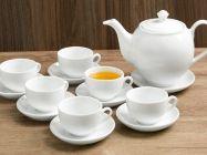 Bộ ấm trà sứ Sứ Sương SSA019 14 món