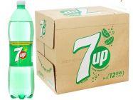 Thùng 12 chai nước ngọt 7 Up vị chanh 1.5 lít