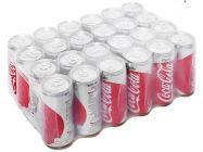 24 lon nước ngọt Coca Cola Light 330ml