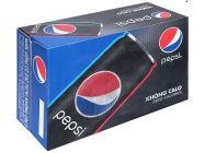 Thùng 24 lon nước ngọt Pepsi không calo 330ml