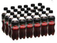 24 chai nước ngọt có ga Coca Cola Zero 390ml