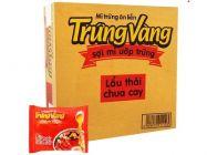 Thùng 30 gói mì Trứng Vàng lẩu Thái chua cay 65g