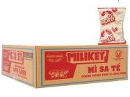 Thùng 30 gói mì sa tế Miliket giấy vàng 75g