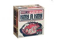 Thùng 30 gói mì Kokomi hải sản Kayakay gói 90g