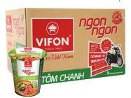 Thùng 24 ly mì tôm chanh Vifon Ngon Ngon 60g