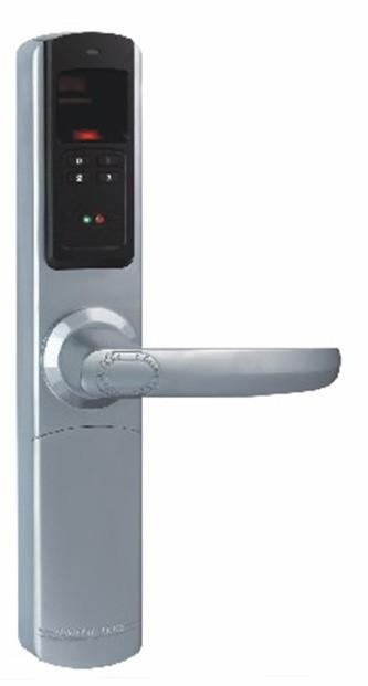 Khóa cửa  Adel 5500 (3 in 1) màu bạc