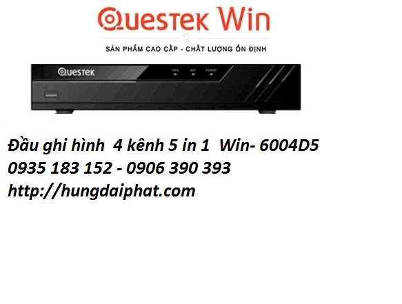 Đầu ghi hình  8 kênh 5 in 1  Questek Win-9008D5