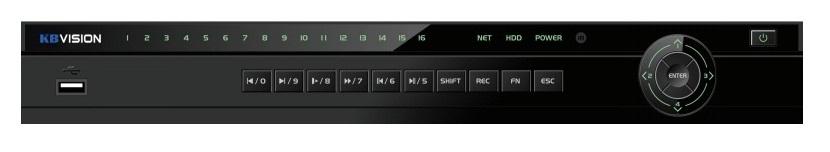 Đầu ghi hình 16 kênh 5 in 1 KBVISION KX-8216D5