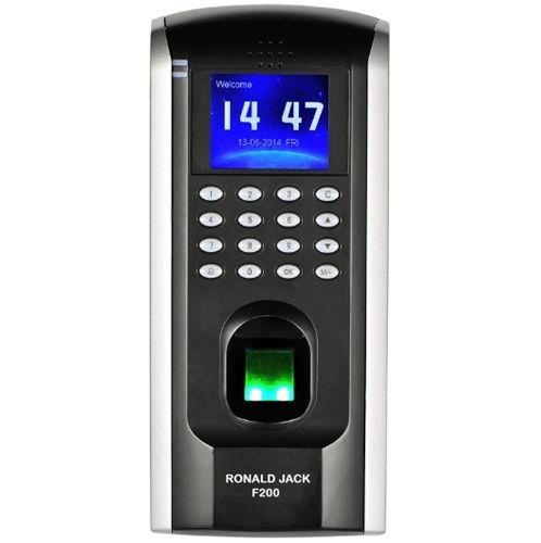 Máy chấm công kiểm soát cửa bằng vân tay và thẻ từ  Ronald Jack SF200