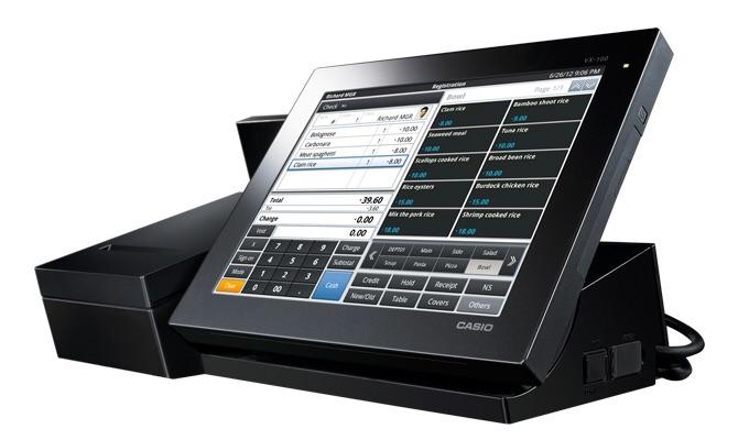 Máy tính tiền Casio V-R200
