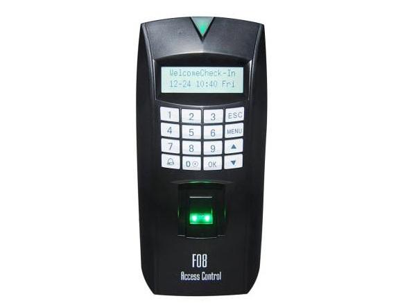 Máy chấm công kiểm soát cửa bằng Vân tay + cảm ứng MITA F08