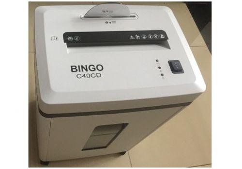 Máy hủy giấy Bingo C40CD