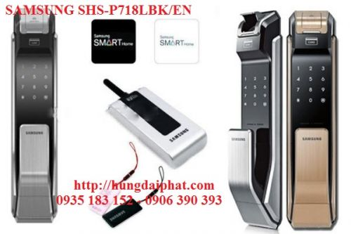 Khóa Samsung SHS-P718LBK/EN