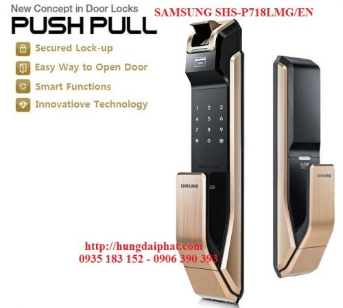 Khóa Samsung SHS-P718LMG/EN