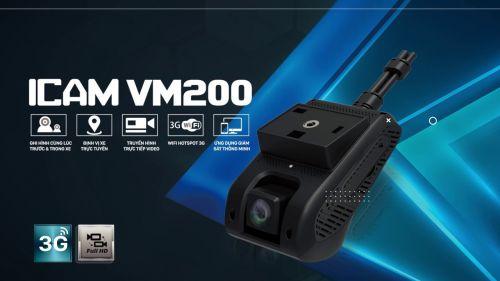 Camera hành trình trước và trong xe Vietmap VM200