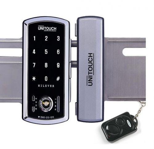 Khóa cửa mật mã ,thẻ từ  dùng cho cửa kiếng uni-touch PTC 702