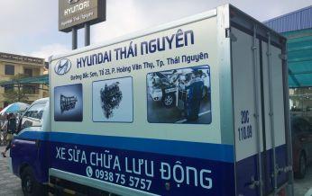 Xe sửa chữa lưu động đầu tiên tại Thái Nguyên ?