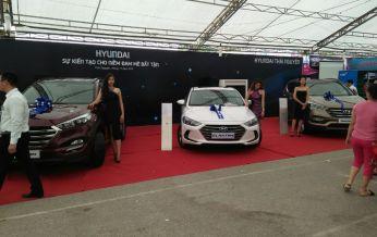 """Hyundai Thái Nguyên cùng hội chợ triển lãm """"Mỗi xã, phường một sản phẩm"""" năm 2016"""